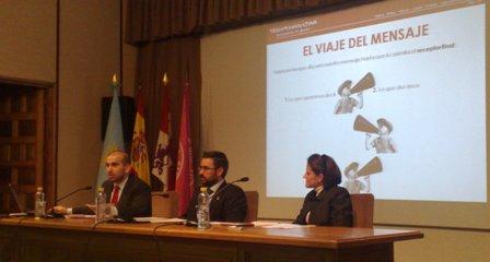 Yuri Morejón, Ignacio Martín y Gloria Ostos
